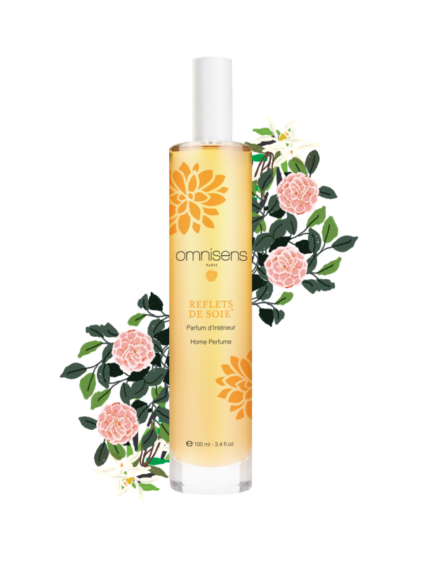 REFLETS DE SOIE® Parfum d'intérieur100ml - OMNISENS.fr