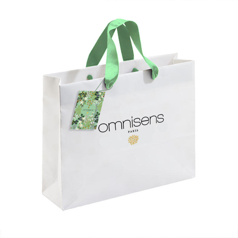 SAC SHOPPING Printed Premium Bag25 x 25 cm - OMNISENS.fr