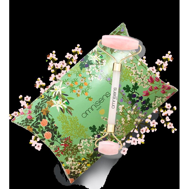 QUARTZ ROSE ROLLER Roller pour le visage en Quartz Rose - OMNISENS.fr