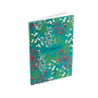 BLUE NOTEBOOK Notebook with floral prints MARINE SOFTNESS14 x 9 cm - OMNISENS.fr