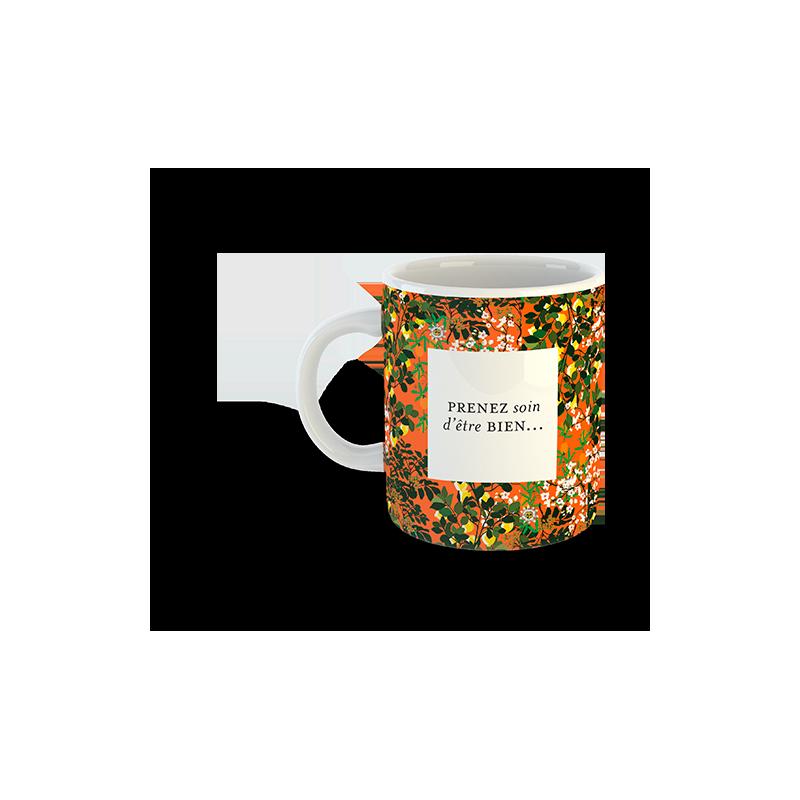 Mug DÉLICE PASSION® Mug à imprimés floraux - OMNISENS.fr