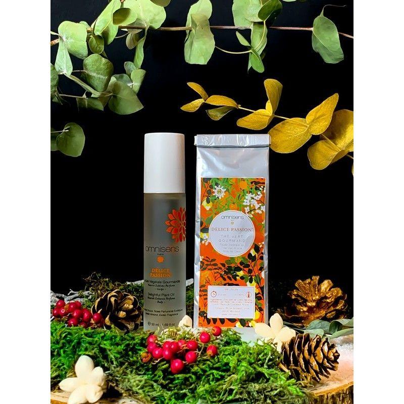 Coffret DÉLICE PASSION® - Edition Noël 2020 Vous aimez les senteurs et saveurs exotiques ? Alliez gourmandise et cosmétique en o
