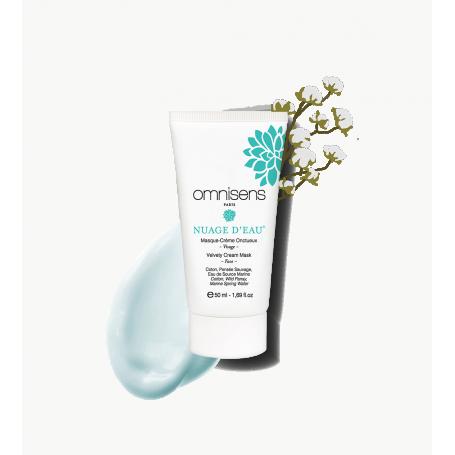Masque crème Visage NUAGE D'EAU® Hydrate | Détoxifie | Illumine
