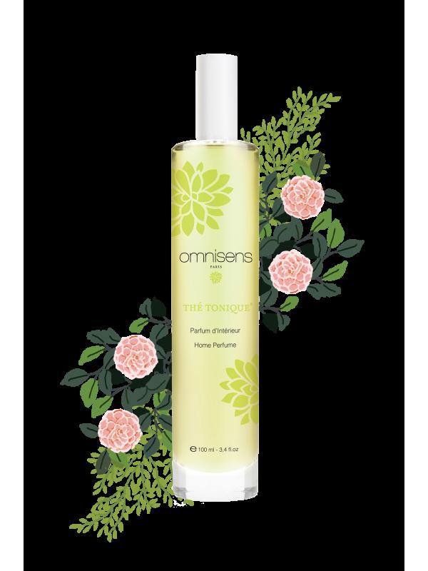 THÉ TONIQUE® Parfum d'intérieur100ml - OMNISENS.fr