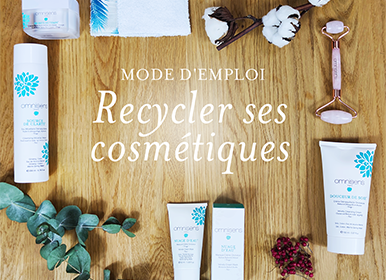 Cosmetic recycling, instructions for use